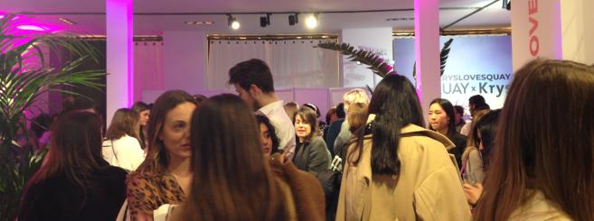 Krys a organisé une soirée de lancement jeudi 6 février