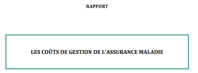 Coûts de gestion des Ocam : les conclusions de l'IGAS et de l'IGF