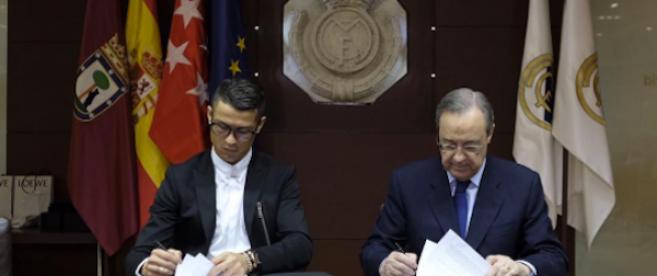 Cristiano Ronaldo risque une amende à cause de ses lunettes Nike