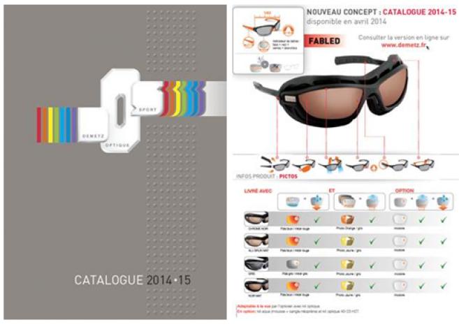 Demetz Sports Optics : le nouveau catalogue et les PLV disponibles fin avril