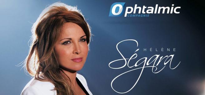 Les Mardis contacto avec Ophtalmic Cie : Face aux difficultés de la presbytie, Hélène Ségara fait le choix des lentilles de contact