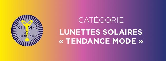 Silmo d'Or 2020 : présentation des 5 montures nominées dans la catégorie « Lunettes solaires tendance mode »