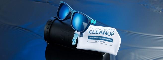 Du plastique issu des déchets du Pacifique pour les nouvelles solaires de Safilo