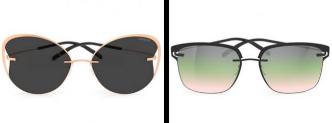3 nouveaux modèles dont 1 unisexe et 2 féminins pour la collection Titan Accent Shades de Silhouette