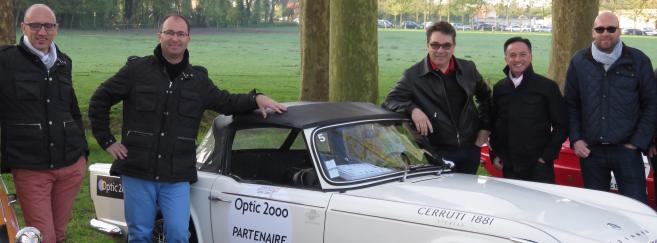 Pilote d'un jour avec Cerruti 1881 lors du Tour Auto Optic 2000