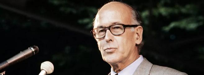 Valéry Giscard d'Estaing portait toujours des lunettes couleur écaille