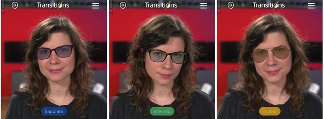 Transitions se met à l'essayge virtuel
