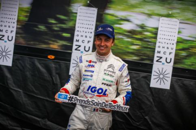 Prévention : le double champion de France des rallyes s'engage au côté d'Essilor France