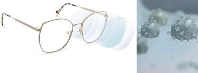 Zeiss a mis au point son premier traitement antivirus pour verres optiques