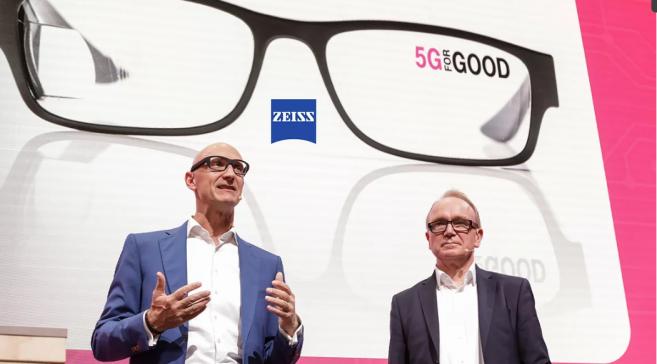 Zeiss avance sur le marché des lunettes connectées avec Deutsche Telekom