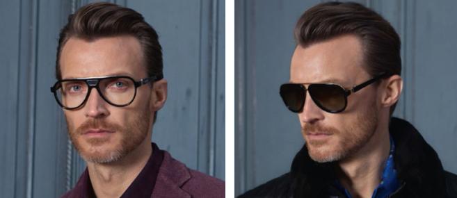 Zilli : nouvelle collection de lunettes pour hommes avec Grosfilley