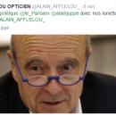 Alain Juppé et les Forty d'Alain Afflelou