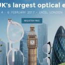 Rendez-vous à Londres du 4 au 6 février 2017 pour 100% Optical