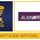 Alain Afflelou, opticien officiel de la coupe de la ligue