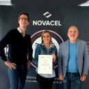 L'organisme de formation de Novacel obtient une certification