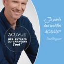 L'animateur Denis Brogniart, nouveau visage des lentilles Acuvue