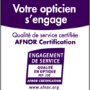 Optical Center certifiée « Qualité en Optique » par l'Afnor