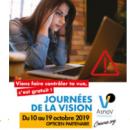 Journées de la Vision 2019: mobilisez-vous en faveur du dépistage chez les jeunes!
