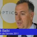 Reportage TV: A. Balbi, Opticien de l'année: sa stratégie, son parcours, ses projets