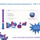 CooperVision étend sa gamme Biofinity jusqu'à-10D