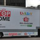 Bus pour dépister le glaucome: Acuité présent pour cette première journée!