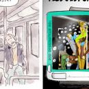 Peur de retourner dans les transports publics? Une vision humoristique