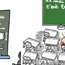 Le retour à l'école, une vision humoristique