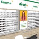 100% Santé: nouveau concept de corners d'optique en pharmacie, sous enseigne Direct Optic