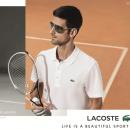 Novak Djokovic nouveau visage de Lacoste
