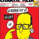 Les lunettes de François Hollande caricaturées par Charlie Hebdo