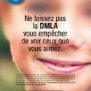Top départ des 1res Journées nationales de la Macula: informez vos clients!