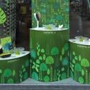 Acétate translucide et couleurs printanières pour les nouvelles créations Koali