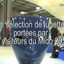 TV Reportage Mido 2013: Les lunettes originales vues sur le nez des visiteurs