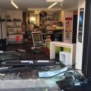 Un magasin d'optique victime d'un cambriolage à la voiture bélier