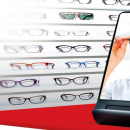 Une prise de mesures de verres personnalisés en un seul clic avec le nouveau miroir signé Shamir