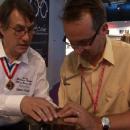 TV Reportage Silmo: Les opticiens s'initient aux techniques des Meilleurs Ouvriers de France