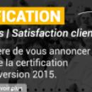 Mont-Royal reçoit la certification qualité ISO 9001:2015