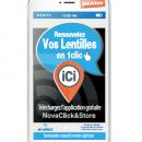 Avec NovaClick&Store, Novacel facilite l'achat de lentilles en ligne livrable chez l'opticien