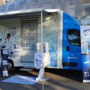 Une nouvelle action dans un lycée pour l'Optocar de Novacel