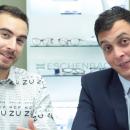 Mathieu et Maxime sont vos opticiens-animateurs Acuité TV pour le Silmo 2017 !