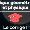 BTS OL 2019: retrouvez le sujet et le corrigé d'Optique géométrique et physique sur Acuité!