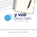 Lutte contre le renoncement aux soins: Optique Solidaire lance sa plateforme Yvoirplusclair.fr