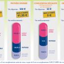Sur-complémentaire santé : Adrea Mutuelle (Kalivia) prévoit 5 niveaux de remboursement