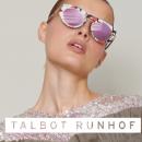 Talbot Runhof Eyewear: une collection solaire originale avec des verres miroirs