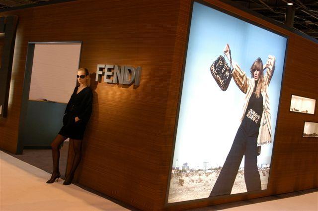 Fashion, le stand Fendi de chez Marchon