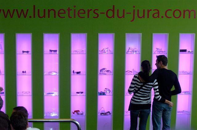 La lunetterie française démontre une forte créativité dans les produits présentés