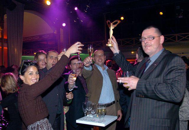 L'équipe Inottica fête son succès !