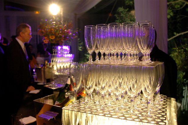 Le champagne a coulé à flots à l'issue de la remise des prix