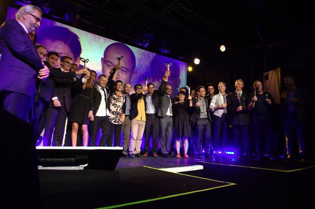 Ensemble des gagnants des Silmo d'or 2013