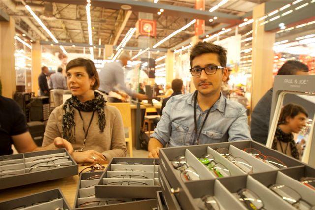 Collection de montures optiques PAUL & JOE